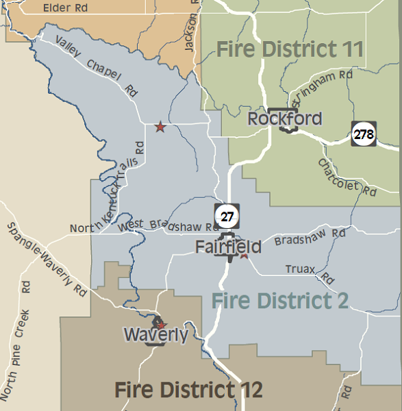 Spokane County Fire District 2 Volunteer Fire Protection And